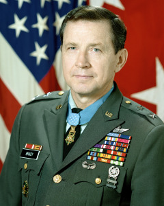MGEN Patrick H. Brandy, USA (Medal of Honor Recipient) (uncovered).