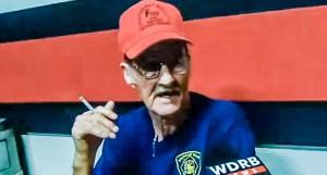 Southeast Bullitt County Fire Chief Julius Hatfield speaks to WDRB (screen grab)