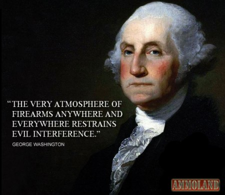 Very Atmosphere Of Firearms Anywhere And Everywhere Restrains Evil Interference