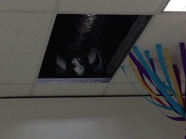 Monster in the ceiling