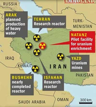 Iran-Nuke-Map