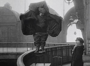 2. Austrian tailor Franz Reichelt thought he'd invented a device that could make men fly. He tested this by jumping off the Eiffel Tower while wearing it.  He failed and he jumped to his death.
