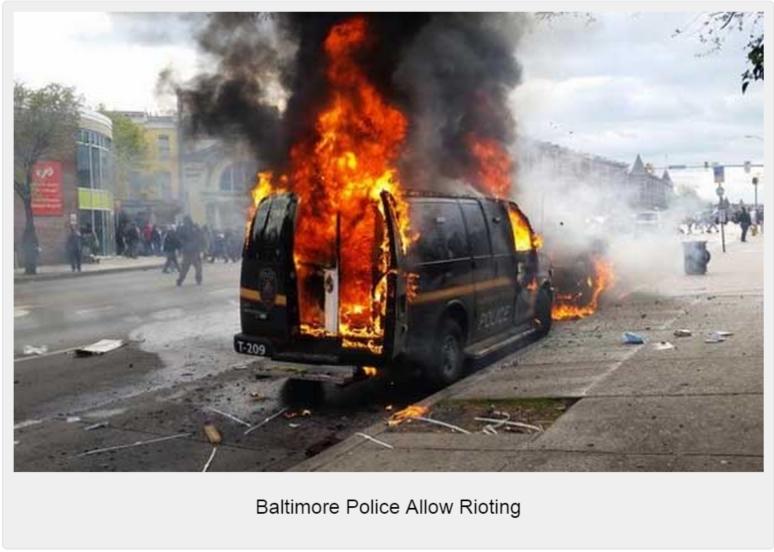 Baltimore-Burning