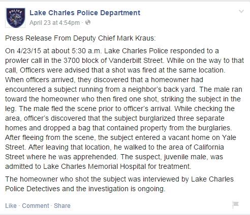 Lake Charles PD