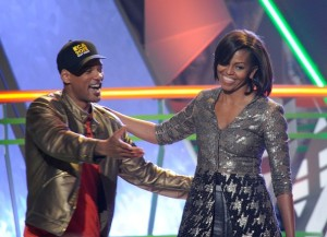 Michelle Obama at Kids Choice Awards
