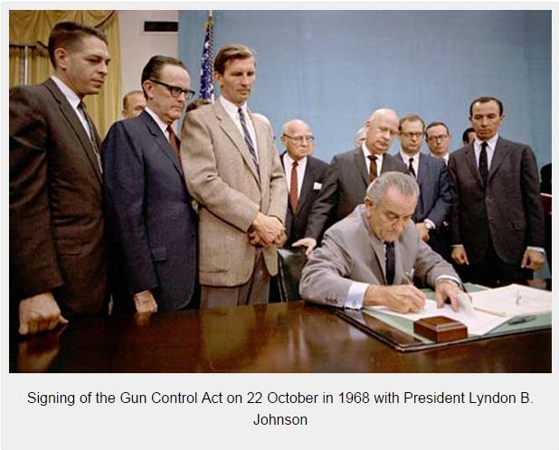 Signing-of-the-1968-Gun-Control-Act