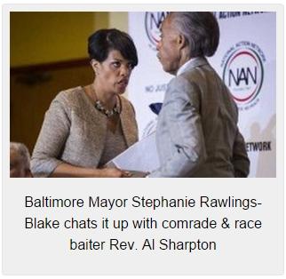 Baltimore-Mayor-Stephanie-Rawlings-Blake-with-Rev.-Al-Sharpton-225x140
