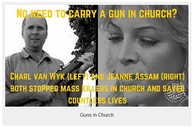 Guns-in-Church
