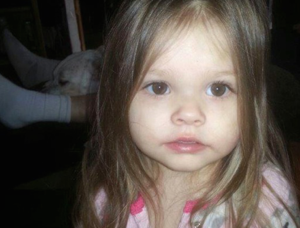 Two-year-old Sophia O'Neill died after being taken to HCMC.