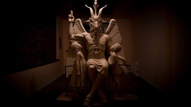 The Satanic Temple is set to unveil its Baphomet monument in Detroit. (Credit: The Satanic Temple/Facebook)