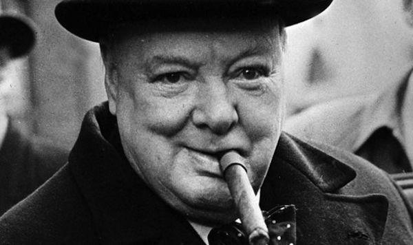 """20. Winston Churchill was a very interesting man. Apparently he would """"limit"""" himself to 15 cigars a day. Now that's what I call self-control…."""