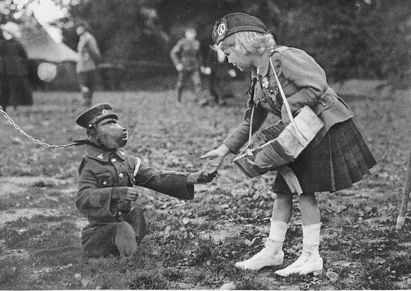 22. During WWI, this monkey became a hero. He was awarded a medal and promoted to the rank of corporal. This reminds me a lot of Wojtek the bear. Click here for the full story.
