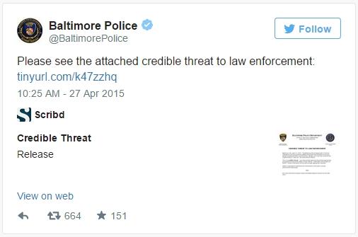 @BaltimorePD