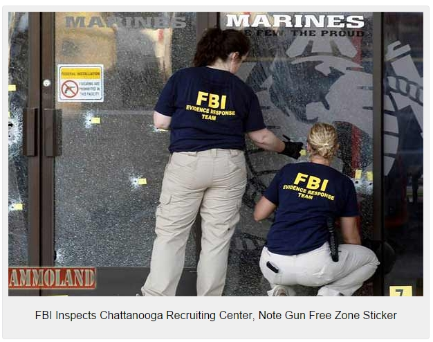 FBI-Inspects-Chattanooga-Recruiting-Center-Note-Gun-Free-Zone-Sticker
