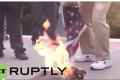 VIDEO: Bikers And Vets Put An End To Flag Burning In Brooklyn