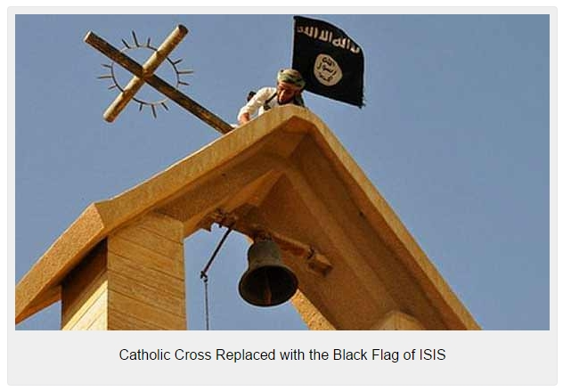 Catholic-Cross-Replaced-with-the-Black-Flag-of-ISIS-632x439