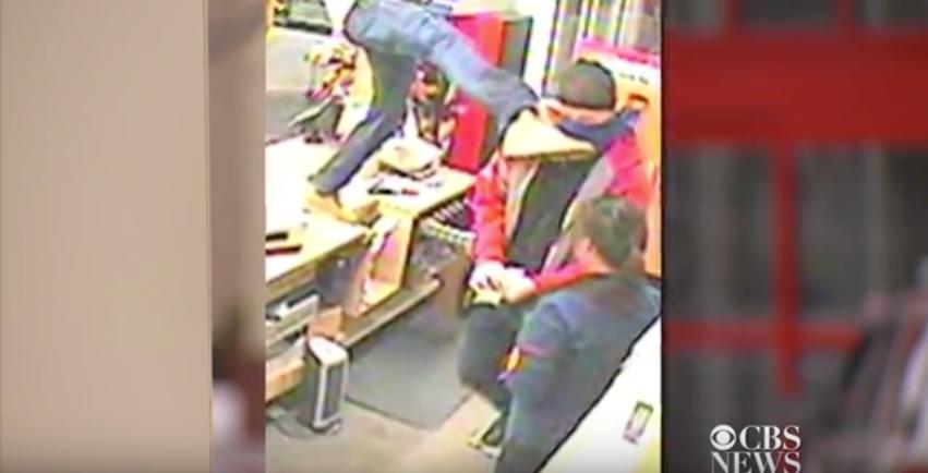 [WATCH] Good Samaritan Stops Armed Robbery With Insane Kick