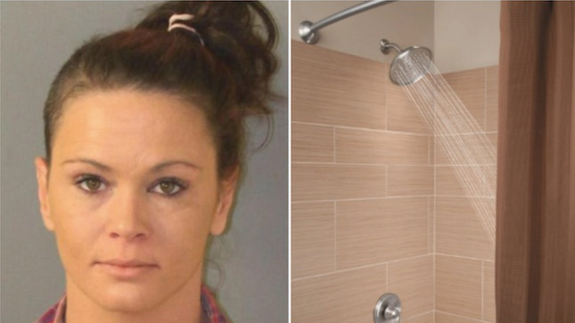 Florida Strip Club Waitress 'Washes' A Teen In The Shower, Then The Father Walks In