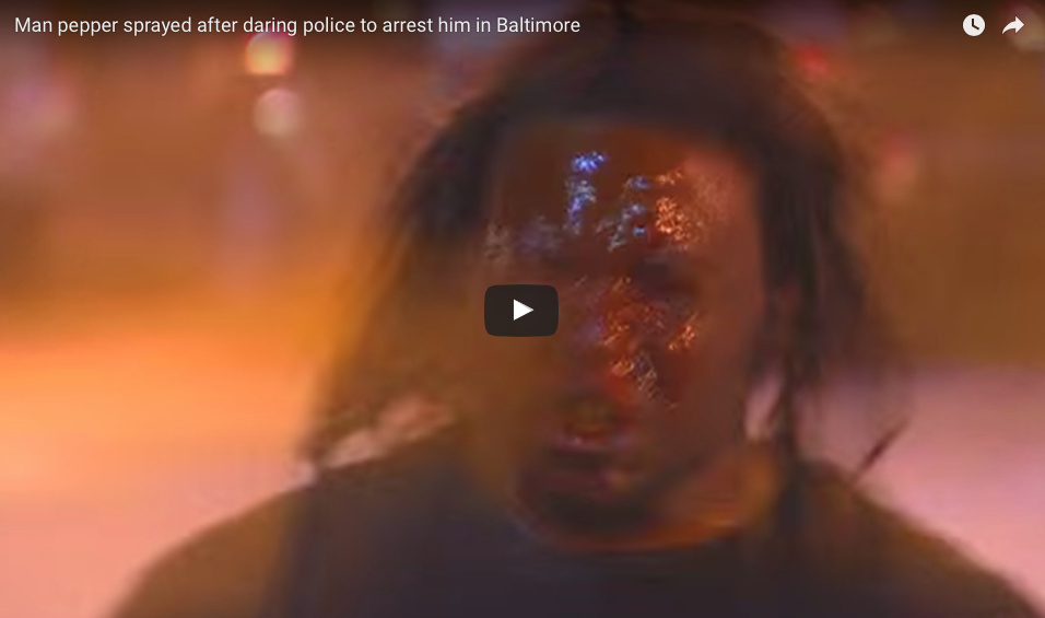[WATCH] The Most Overwhelming Use Of Pepper Spray In The History Of Weapons