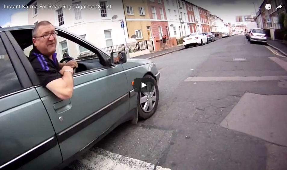 [WATCH] Road Rage Becomes Full-blown Assault But The GoPro Catches The Surprise Karma