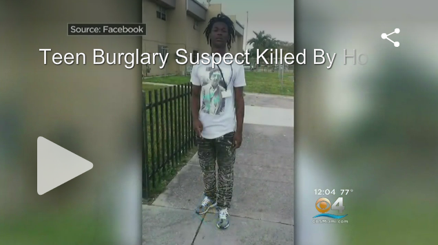 [VIDEO] Homeowner Shoots, Kills Teen Burglary Suspect. Family Outraged. Was Justice Served?