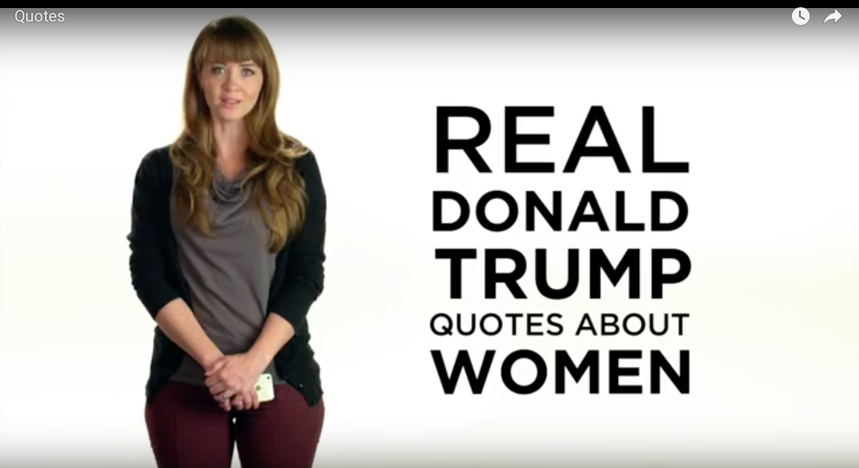 [VIDEO] Real Donald Trump Quotes About Women. Did He Really Say That?