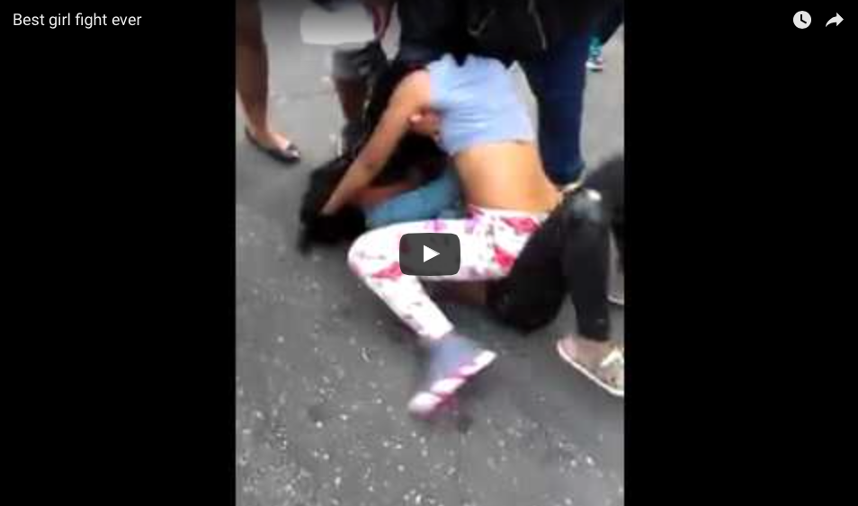 [WATCH] The Best Girl Fight Ever