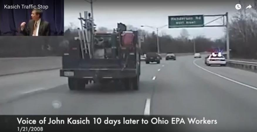 [WATCH] Sheriff Posts Video Of John Kasich Berating 'Lowly' Policeman Over Traffic Stop