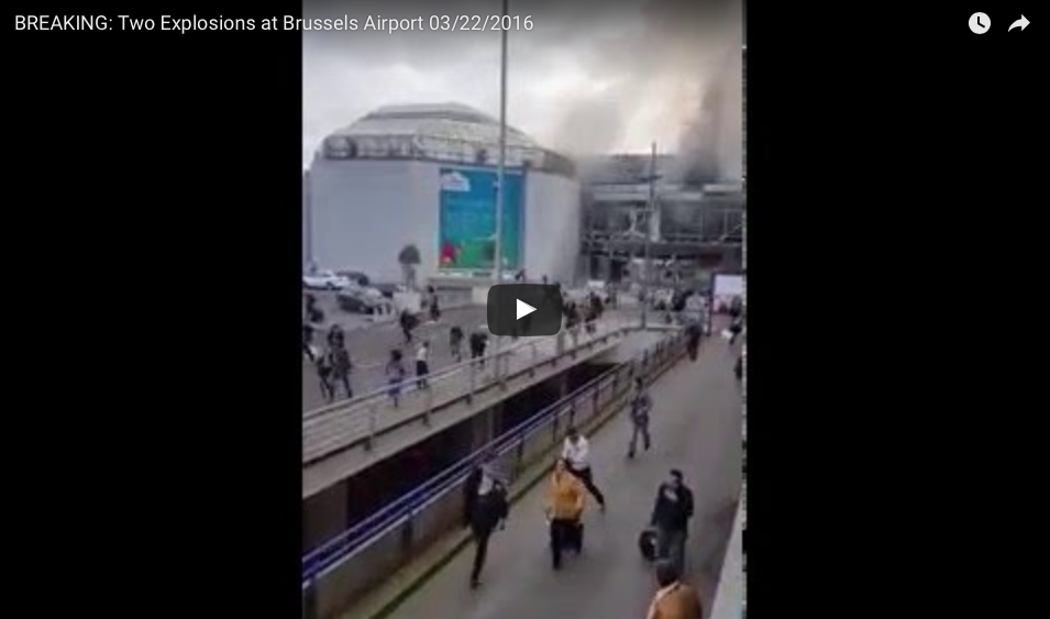 [BREAKING] Brussels Explosions: Many Dead In Airport And Metro Terror Attacks