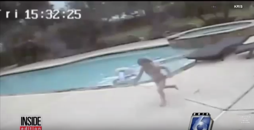 [WATCH] Mother Falls Unconscious In Deep Pool, 5-Year-Old Girl Takes Miraculous Action To Save Her