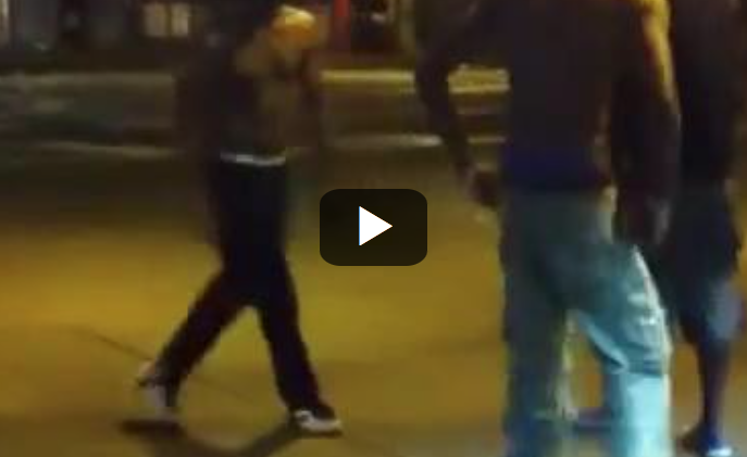 [WATCH] Here Is Why You HAVE To Keep Your HANDS UP Once The Shoving Match Starts!