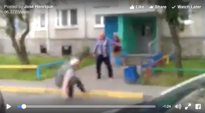 [WATCH] Elderly Men Battle In The Greatest Streetfight Ever!