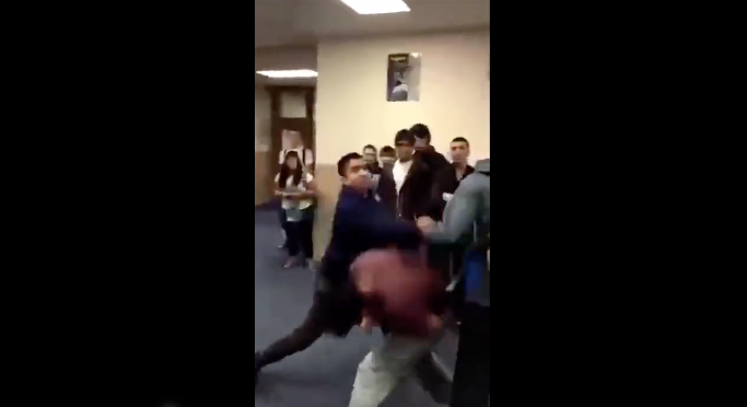 [VIDEO] Bully Wanna Fight? Bob And Weave All Day Long!