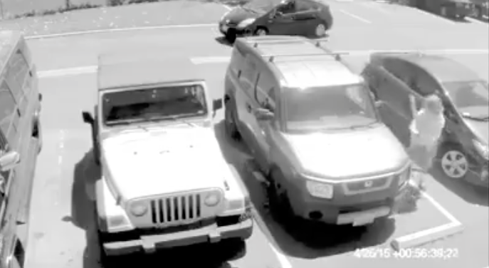 [WATCH] This Is Why You Don't EVER Steal Grandma's Parking Spot