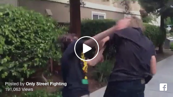 [WATCH] The Worst Street Fight Technique In History, 'More Like Chicken Fighting...'