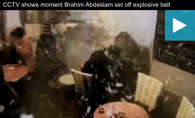 [WATCH] CCTV Footage Shows Moment Paris Suicide Bomber Detonated In Restaurant