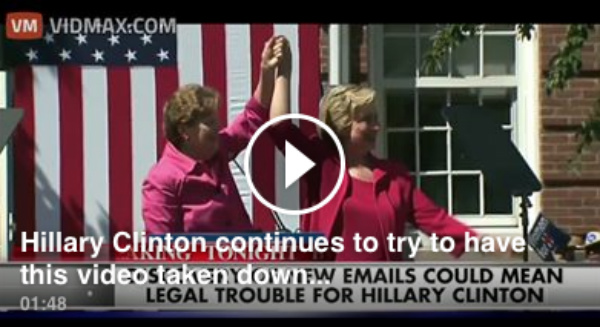 THE VIDEO That Hillary Clinton Is Desperate To Have Taken Down