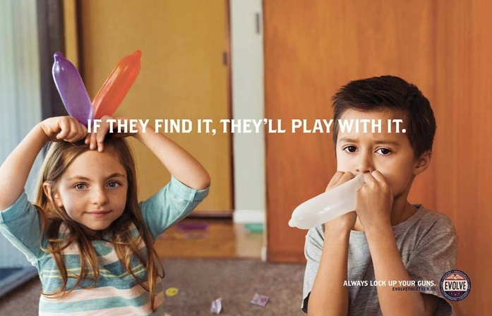 A Good Message Or Bad Taste? Gun Safety Ad Features Kids Playing With Tampons, Sex Toys, Bras And Condoms
