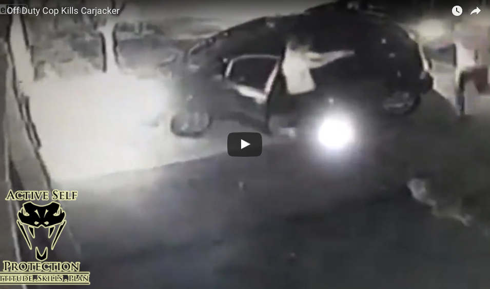 WATCH Carjackers Ambush Man And Daughter Without Knowing He Was Off-Duty Cop