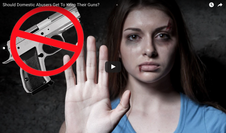 Liberal Senate Insanity: 'Accused' Domestic Abusers Must Give Up Guns Even If Innocent