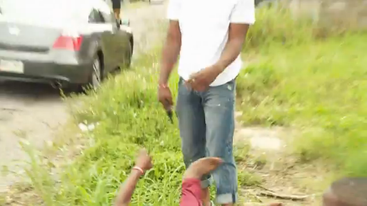 [WATCH] Reporter Learns First-Hand How Scary It Is To Be Caught in a Gun Fight