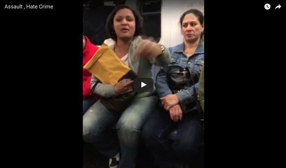 [VIDEO] Subway Rider Goes Absolutely Nuts And Attacks Transgender Woman On Subway
