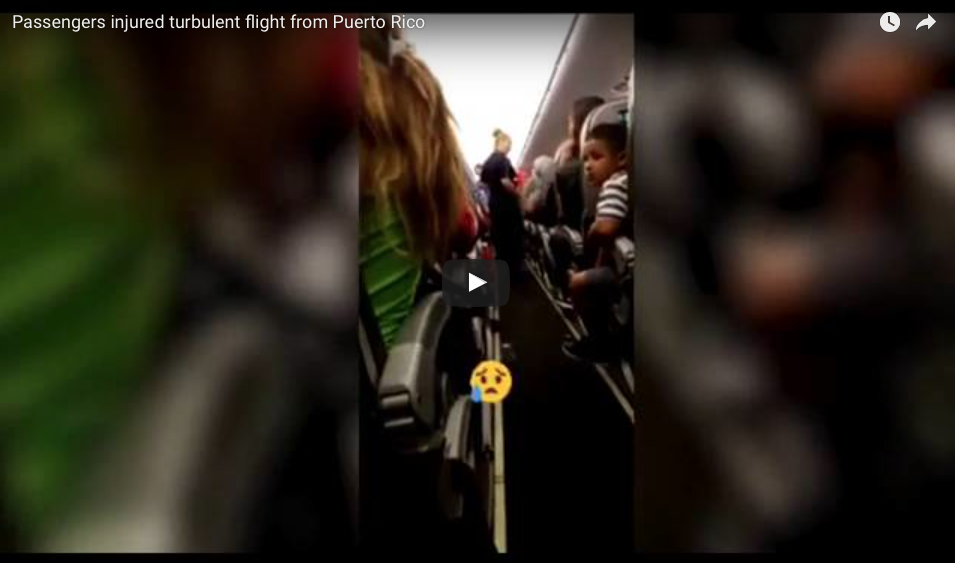 [VIDEO] Terrifying Turbulence Sends Wounded Passengers To The Hospital