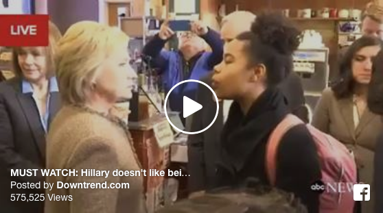 [WATCH] Hillary DOES NOT LIKE Being Challenged By A Black Woman