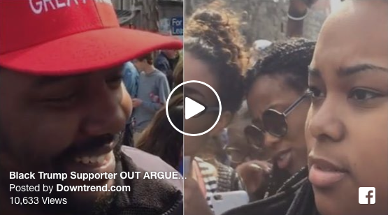 WATCH This Black Trump Supporter Completely OWN #BlackLivesMatter Protesters