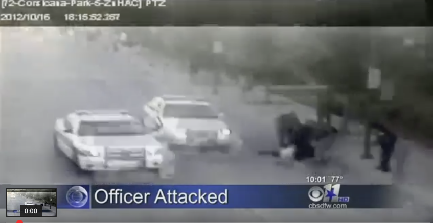 WATCH This Homeless Man And Former Gang Leader Save Dallas Police Officer from Attack