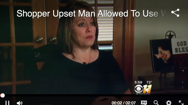 Woman Terrified By Deep, Manly Voice In Female Dressing Room, This Time Not At Target!