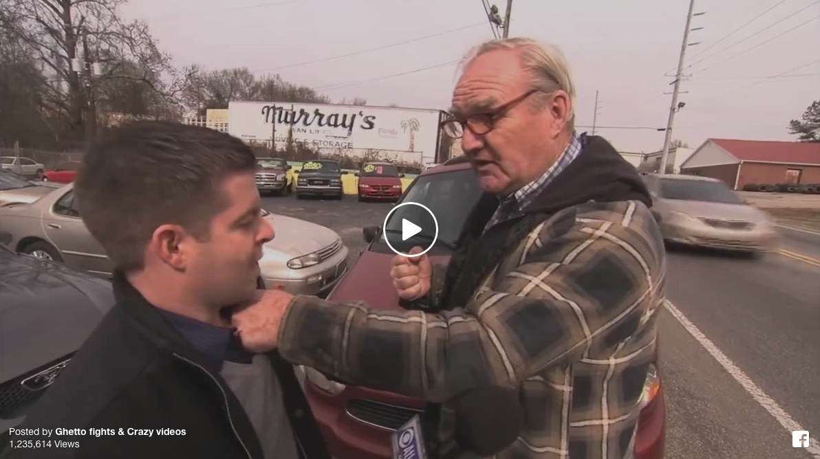 [WATCH] How To Deal With An ANNOYING TV Reporter (Never Gets Old!)