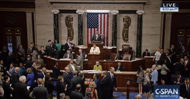 [WATCH] Floor Of House Descends Into Chaos After Democrat's Liberal Bill Defeated At Last Second