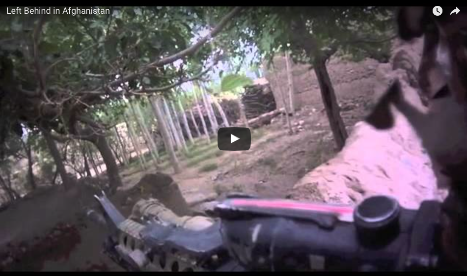 [WATCH] Left Behind In A Firefight In Afghanistan